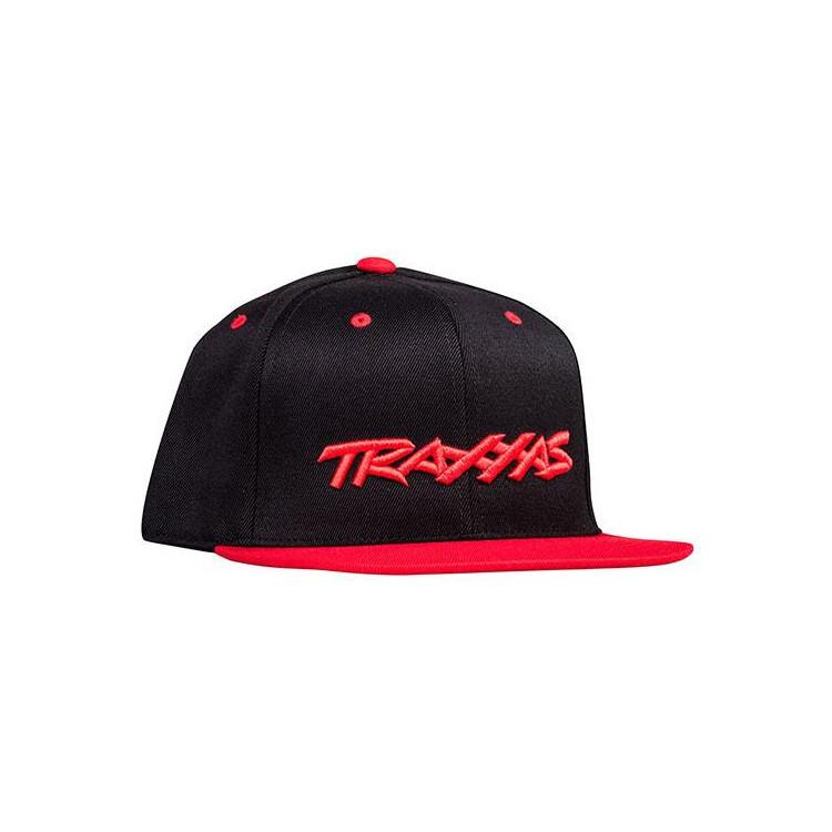 Traxxas kšiltovka černo-červená