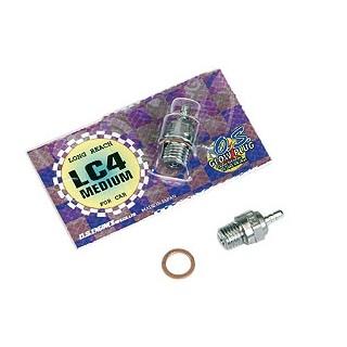 Izzítógyertya standard O.S MAX típus LC-4 medium (közepes)