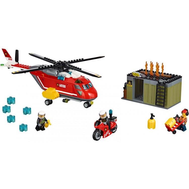 LEGO City Fire - Hasičská zásahová jednotka