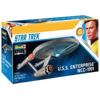 Plastic ModelKit Star Trek 04991 - U.S.S. Enterprise NCC-1701 (TOS) (1:600)