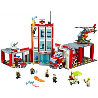 LEGO City Fire - Hasičská stanice