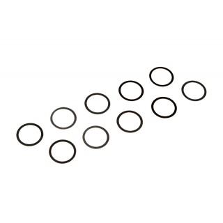 Podložky ocelové (1,4301/14310) 7x9x0,1mm (10 ks.)