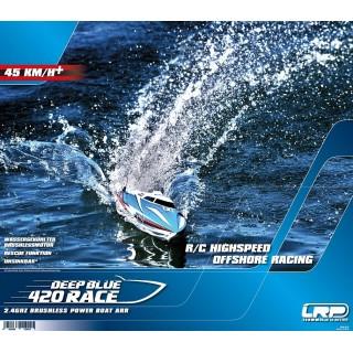 DEEP BLUE 420 RACE Poszter az LRP-től