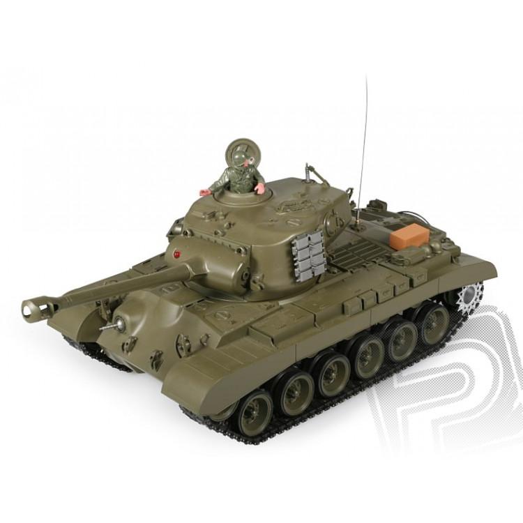 RC tank 1:16 M26 Pershing kouř. a zvuk. efekty