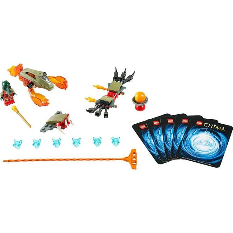 LEGO CHIMA - Ohnivé drápy