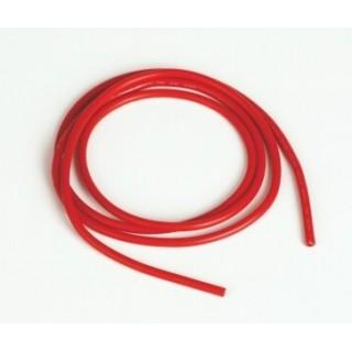 Szilikon kábel 2,0qmm, 14AWG, 1méter, piros