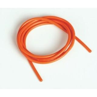 Szilikon kábel 2,0qmm, 14AWG, 1méter, narancssárga