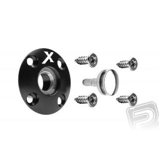 Üzemanyag szelep mágneses (X logo), fekete