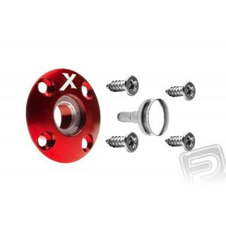 Üzemanyag szelep mágneses (X logo), piros