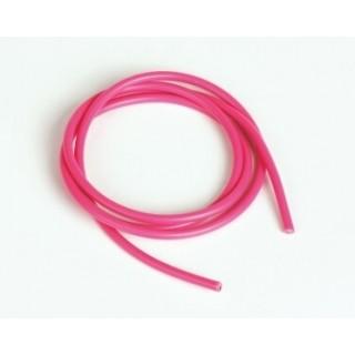 Szilikon kábel 2,6qmm, 13AWG, 1méter, rózsaszín