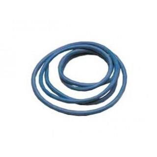Szilikon kábel 4,1qmm, 11AWG, 1méter, kék