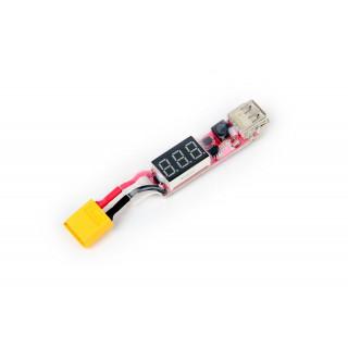 USB-XT60 töltőadapter Li-po-hoz