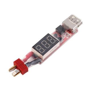 USB-Dean T töltőadapter Li-po-hoz
