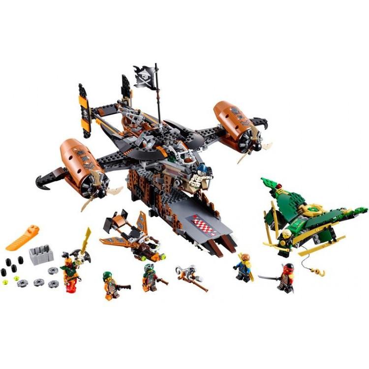 LEGO Ninjago - Smolná tvrz