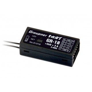 GR-18+3xG+3A Copter HoTT Vevő