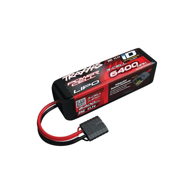 Traxxas LiPo baterie Car 11.1V 6400mAh 25C