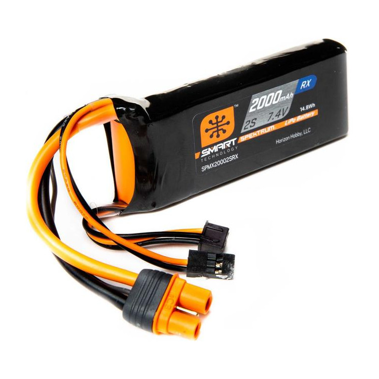 Spektrum Smart LiPo 2000mAh 2S 7.4V Rx IC3