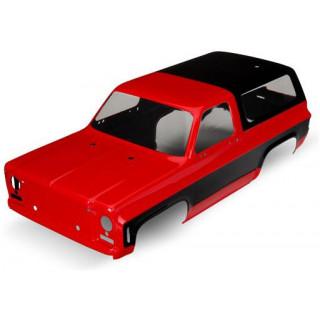 Traxxas karoszéria Chevrolet Blazer 1979 piros