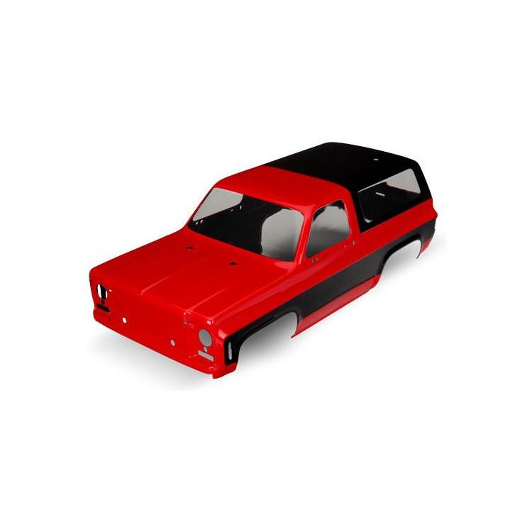 Traxxas karosérie Chevrolet Blazer 1979 červená