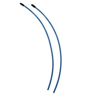 Přijímačové antény včetně čepiček - modré (2 ks.)