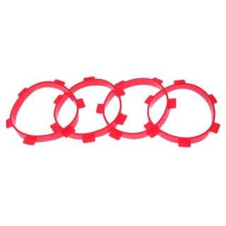 Ultimate Racing montážní kroužky pro 1/8 Buggy gumy (4ks.)