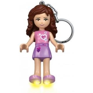 LEGO® Kulcstartó Friends Olivia világítós kulcstartó LEGO® LGL-KE22O