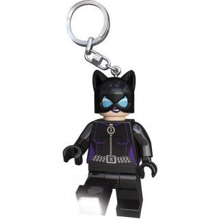LEGO DC Super Heroes Catwoman világító kulcstartó figura LGL-KE40