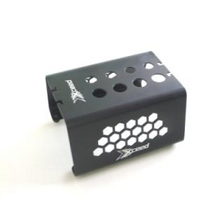 Car-stojánek alu černý s mech. protiskluz. proužky pro 1/10 a 1/8 Buggy a Truggy podvozky
