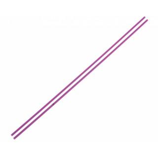 Anténové trubičky RC AUTA 2 ks. - fialové