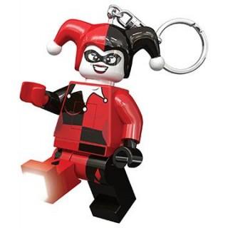 LEGO Superheroes Harley Quinn világító kulcstartó LGL-KE81