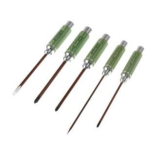 Csavarhúzó szett - kereszt - 3,5, 5,0 , 5,8 és lapos3,0 a 5,0mm x 120mm - (5)