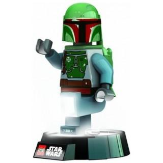 LEGO Star Wars Boba Fett baterka a noční lampa (balení obsahuje baterie)