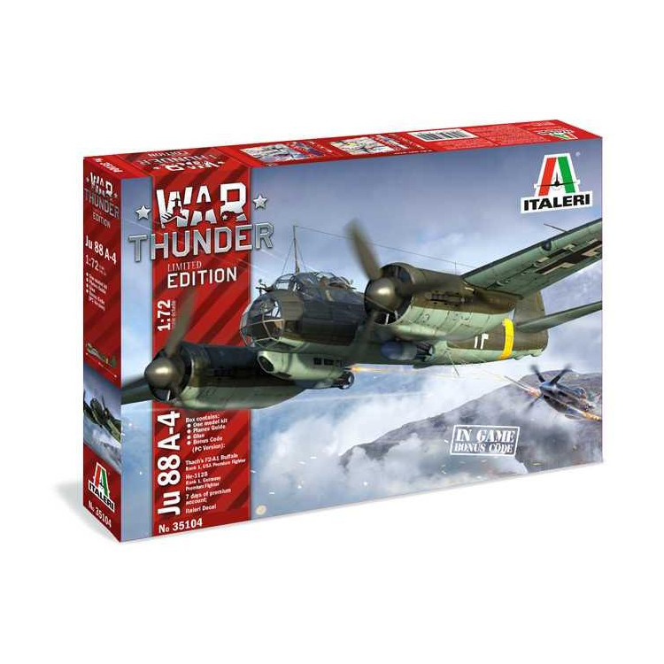 Model Kit War Thunder 35104 - JU 88 A-4 (1:72)