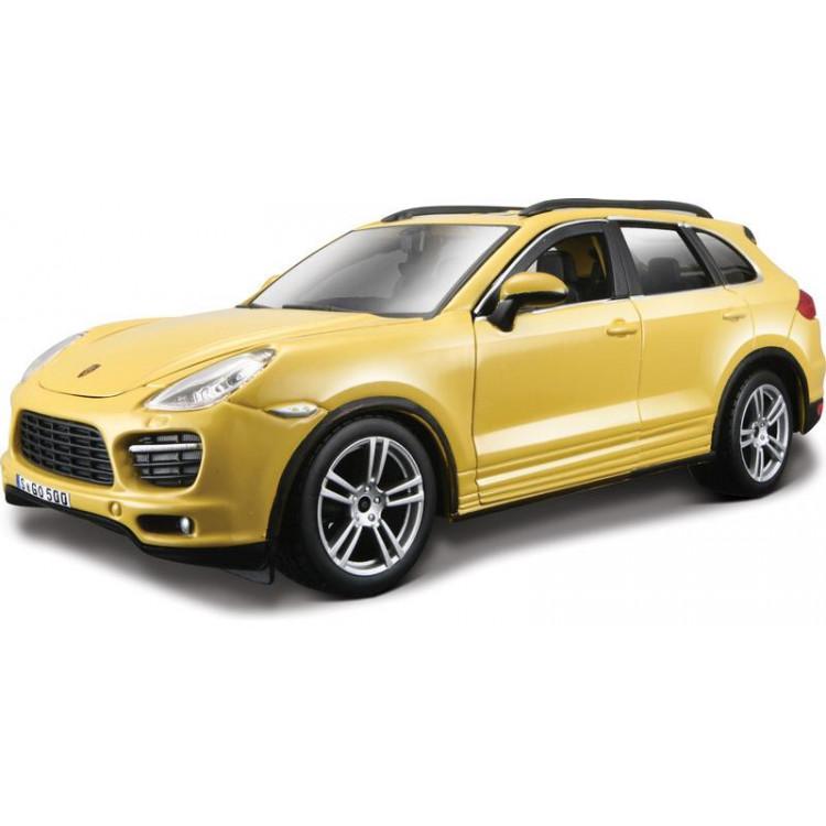 Bburago Plus Porsche Cayenne Turbo 1:24 žlutá