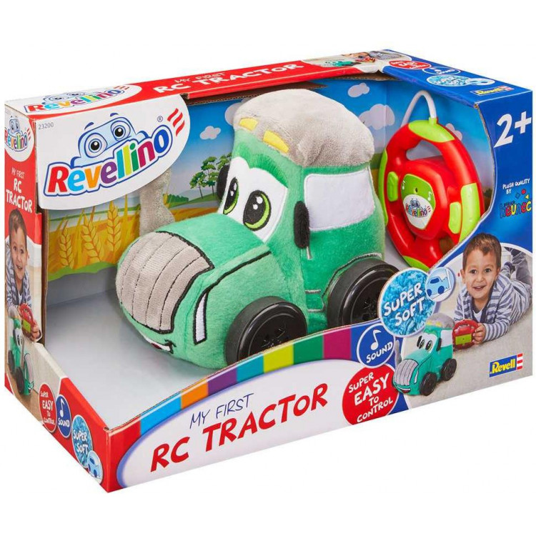 Traktor REVELLINO 23200 - Plush Tractor