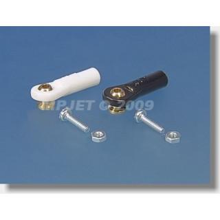 2433 Golyóscsap V1, Pr.5mm, M2,5 / 2 rövid fekete 6db.