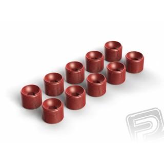 Hub Nut Red (10 ks)