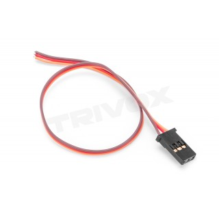 Szervó kábel JR 0,1qmm erős, 200mm, aranyozott csatlakozók