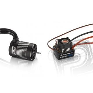 COMBO MAX10 s EZRUN 3652 SL 4000Kv - fekete