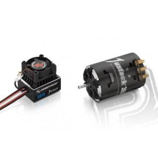 COMBO XR10 JUSTOCK s JUSTOCK 3650 SD 10,5T závitů - G2 - černý