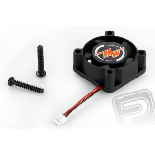 Ventilátor 2510BH-5V, 10.000ford./min. - fekete
