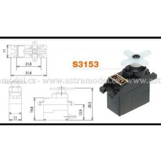 Servo S3153MG 1.7kg.cm 0.11s/60° MG BB digital