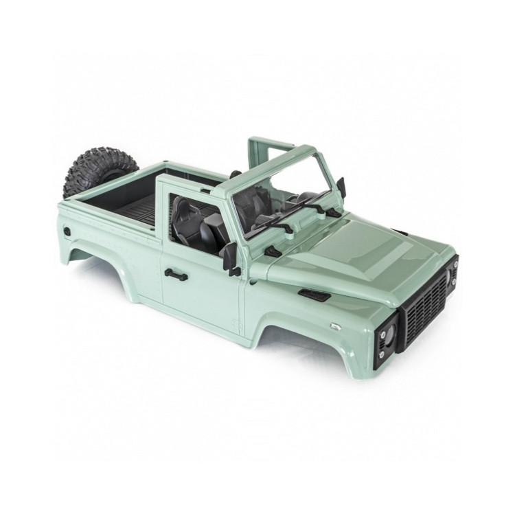 RAID 1 & 2 zelená karoserie