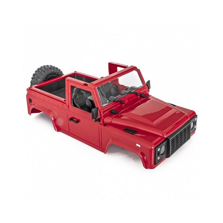 RAID 1 & 2 červená karoserie