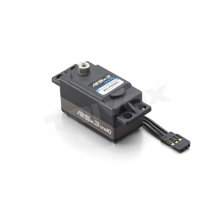 RSx3-ONE 10 RESPONSE servo (9,0Kg) - LOW PROFILE