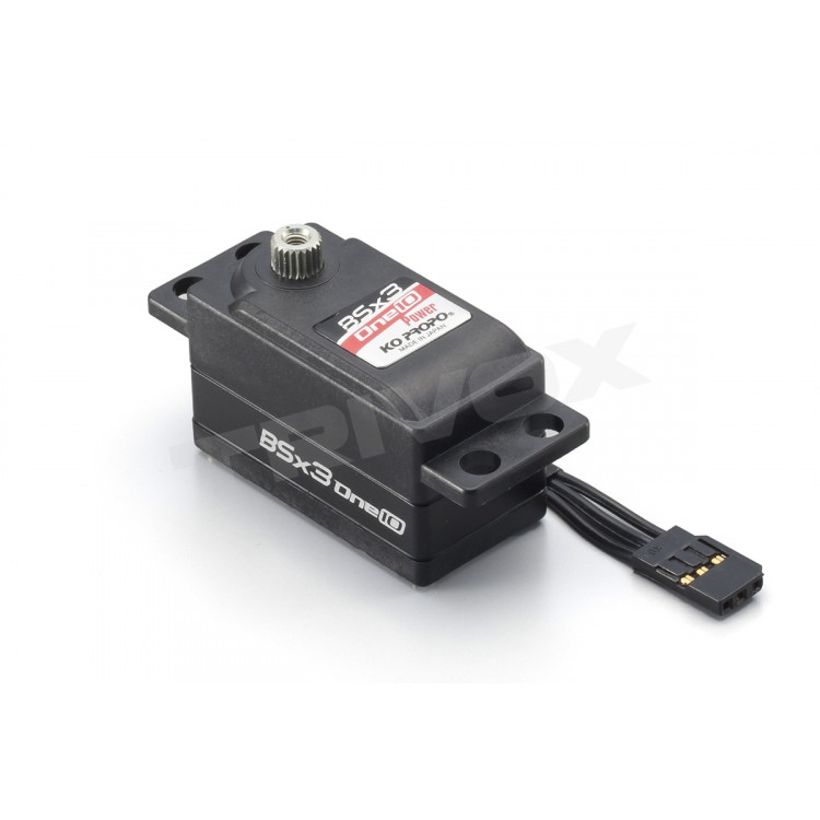BSx3-one10 POWER servo (17,8Kg) - LOW PROFILE