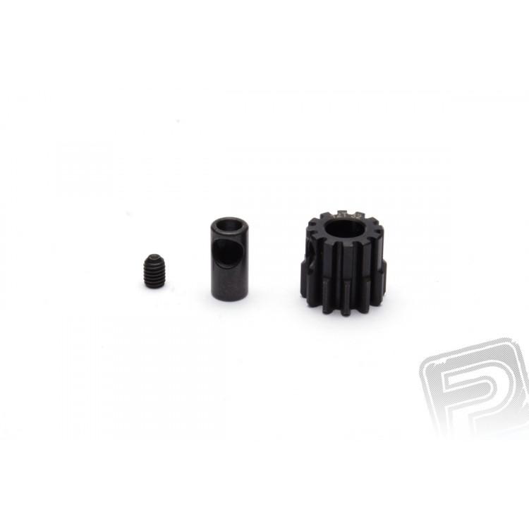 Fogaskerék motorhoz 15 fogas, modul 32 + 5mm adapter