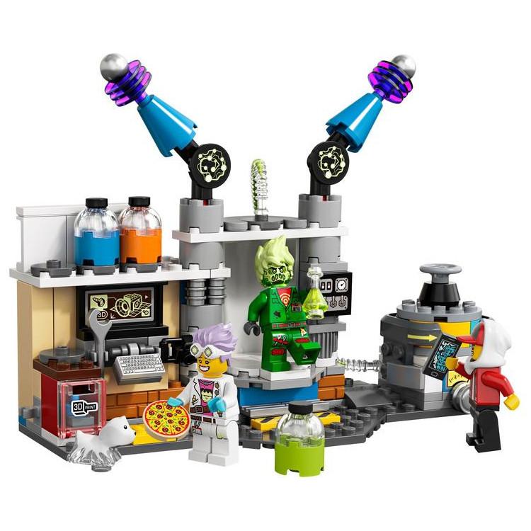 LEGO Hidden Side - J. B. a jeho laboratoř plná duc