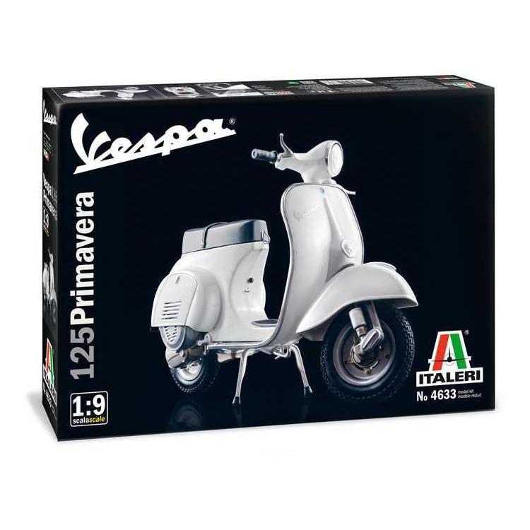 Model Kit motorka 4633 - VESPA 125 PRIMAVERA (1:9)