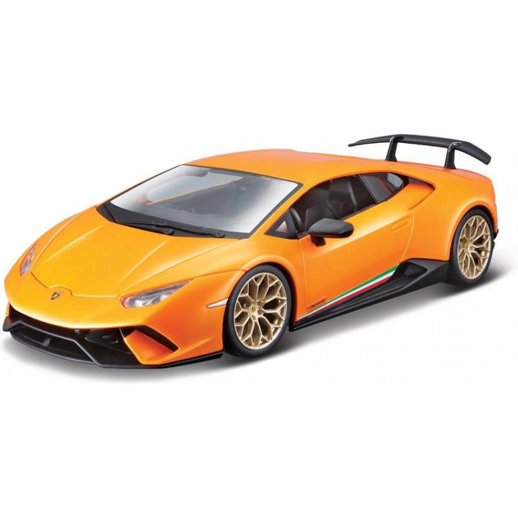 Bburago Lamborghini Huracan Performante 1:24 oranžová